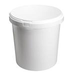 Image de Seau 30L blanc avec anses