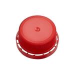 Afbeeldingen van Schroefdop 40mm tamper evident rood